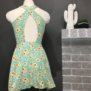La Hearts Dresses - Sunflower cross back dress